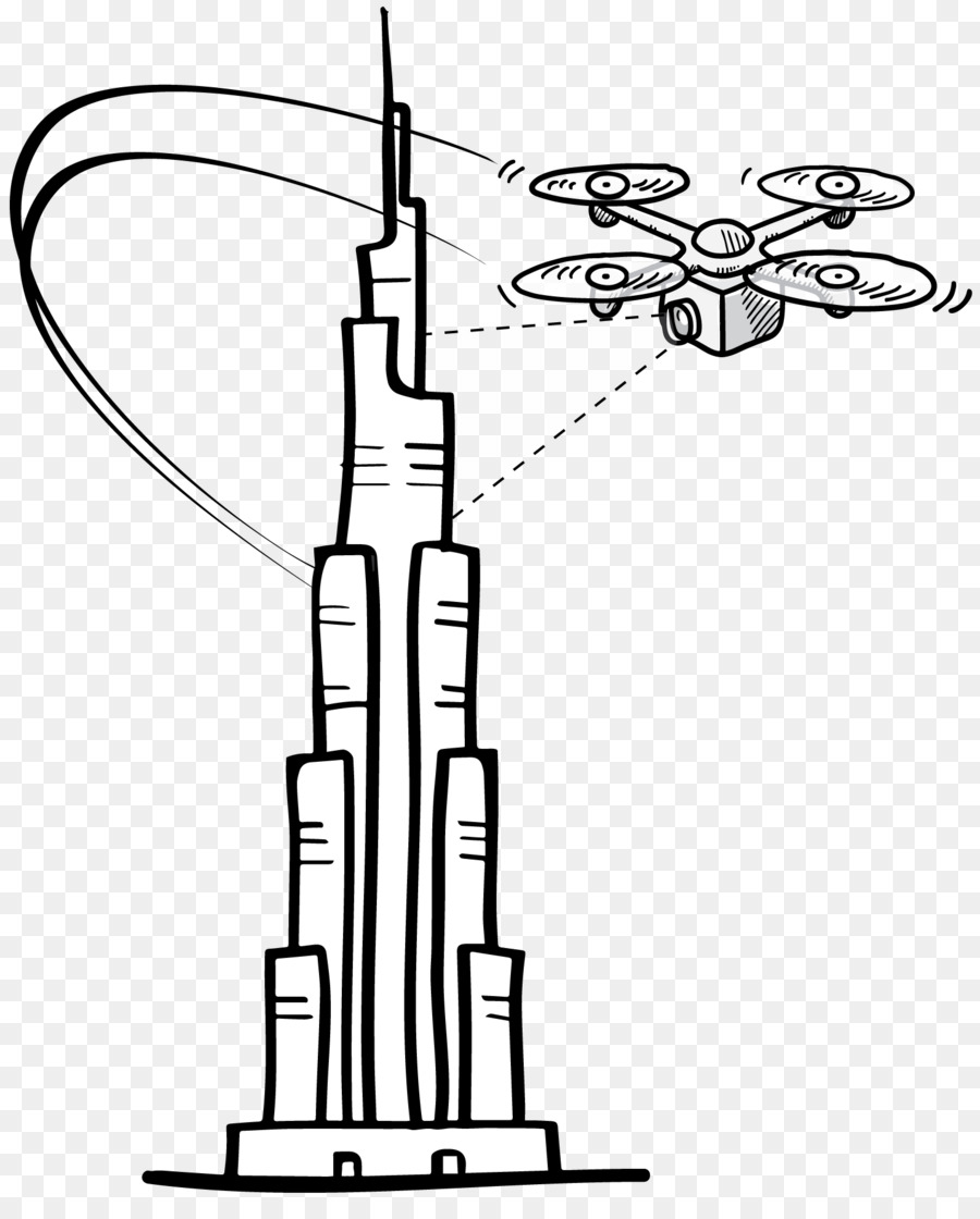 burj khalifa coloring book drawing line art business burj khalifa