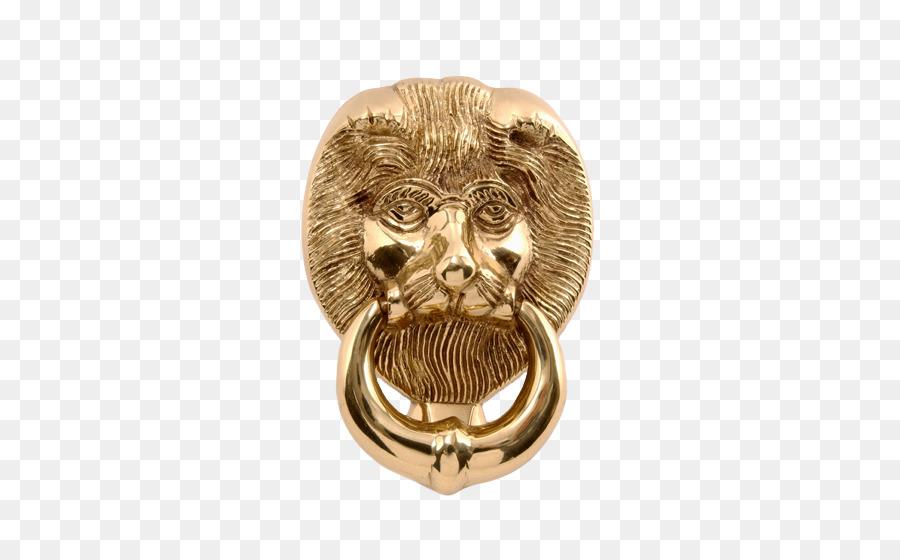Lion Brass Door Knockers Metal   Lion Head