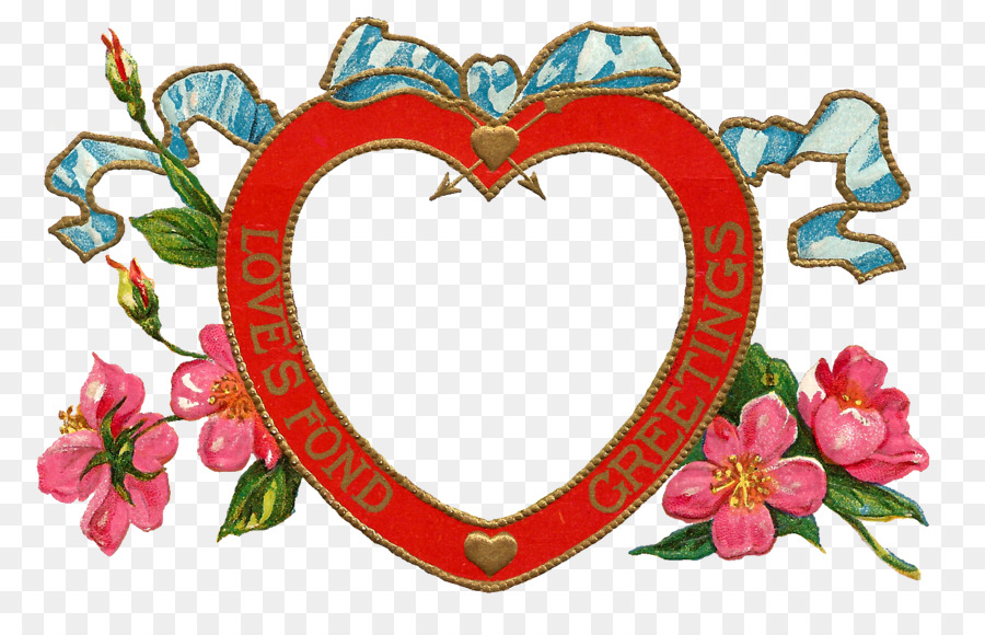 Borders And Frames Valentines Day Picture Frames Heart Clip Art