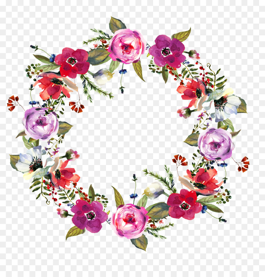Flower Ring Stock Photography Clip Art Floral Wreath Png Download