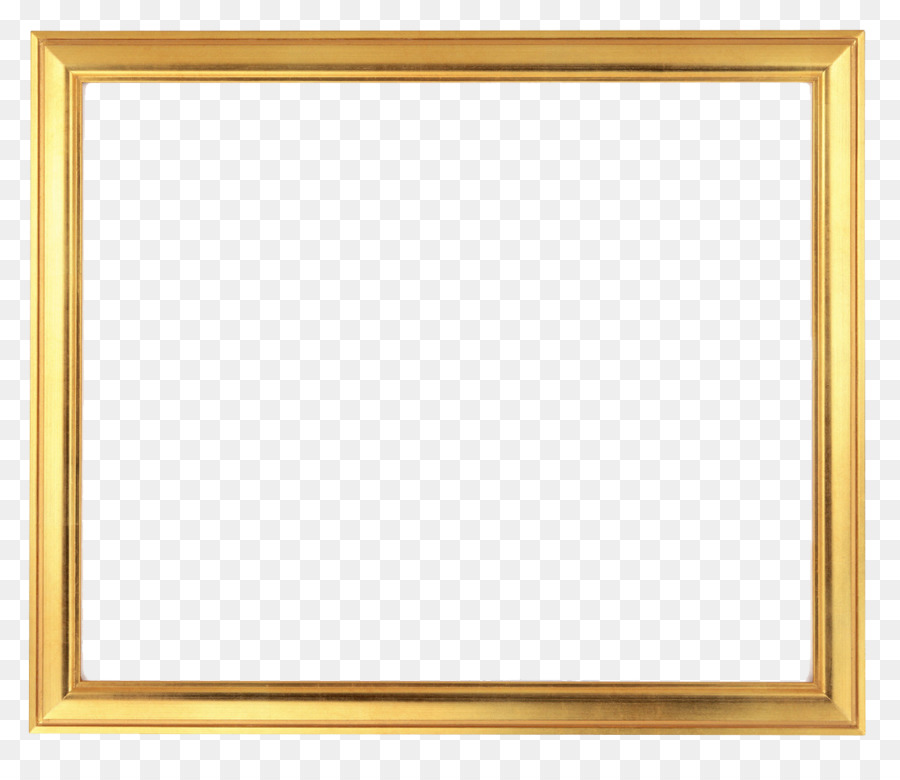 Picture Frames Gold Rectangle Stock photography - frame gold png ...