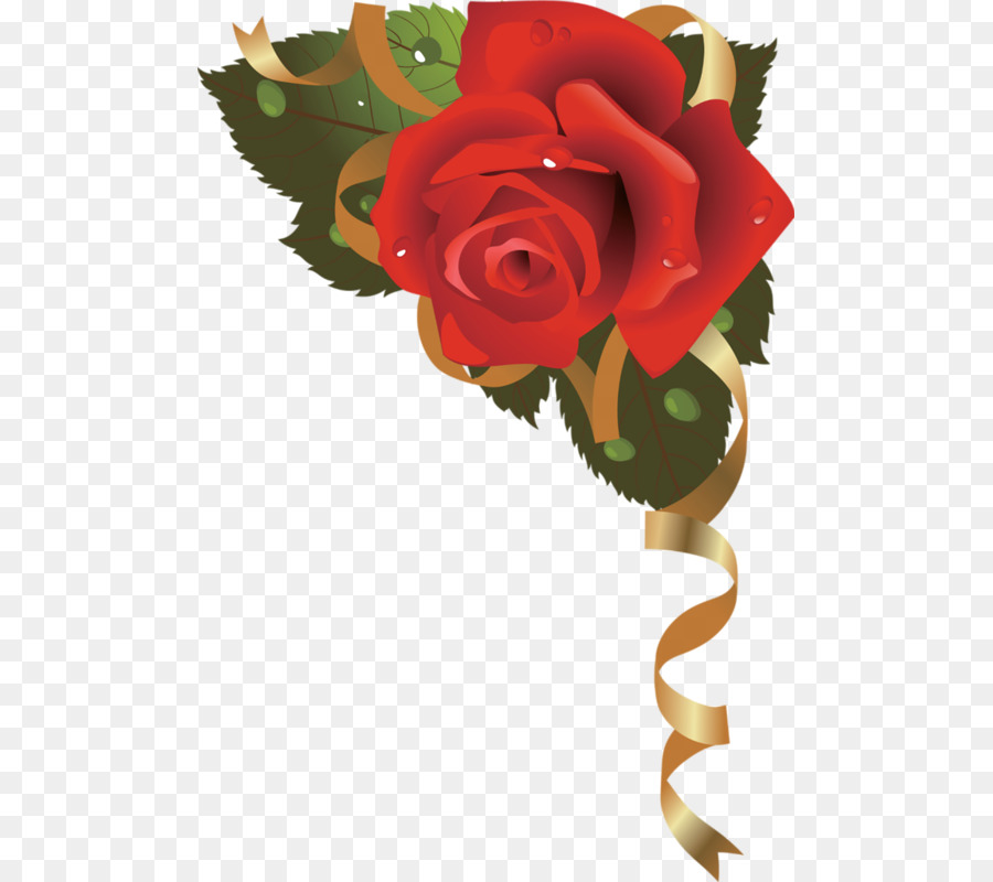 Paper flower rose red rose border png download 541800 free paper flower rose red rose border mightylinksfo