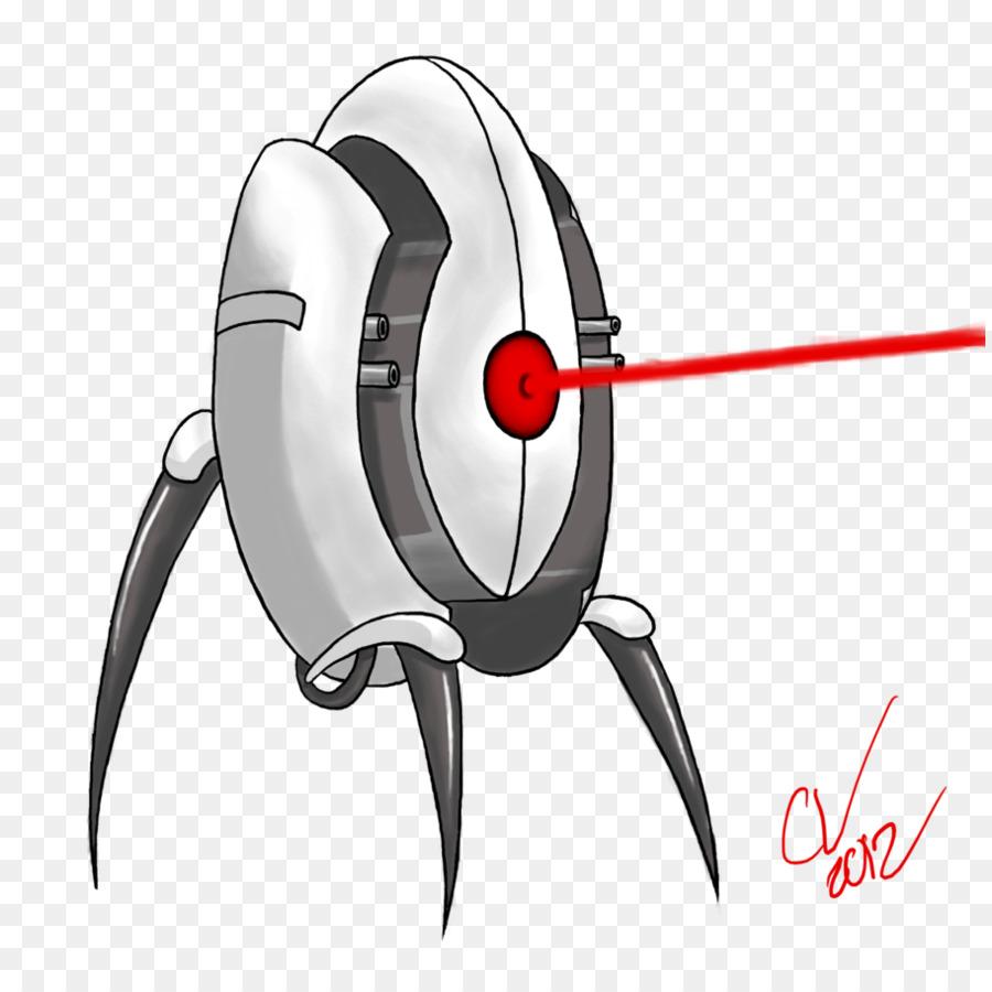 Portal 2 Turret Drawing Cartoon