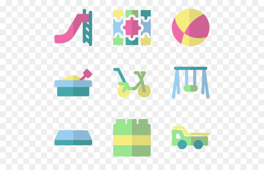 Iconos De Equipo De Kindergarten De La Educación - jardín de ...