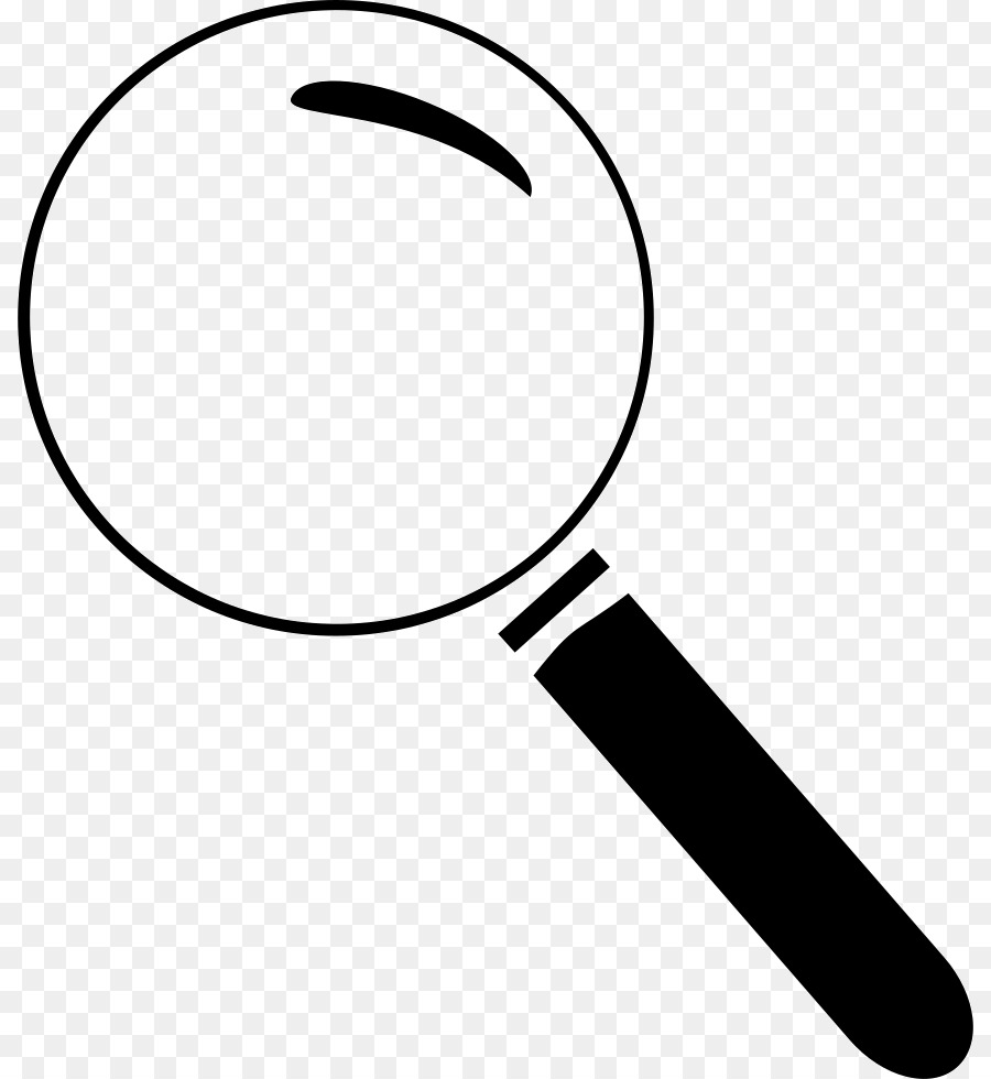 Magnifying glass translucent. Cartoon png download free