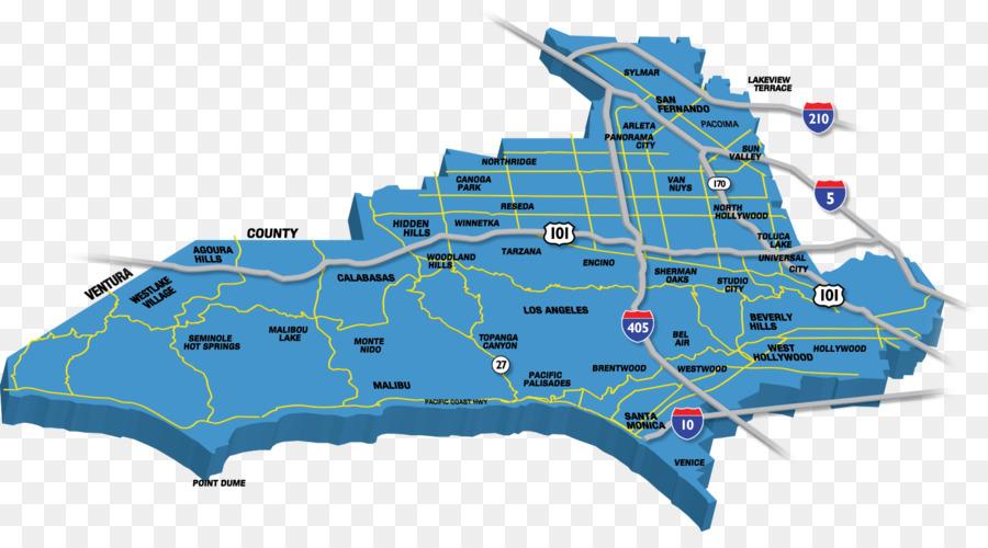 San Fernando Valley Map Los Angeles San Fernando Valley Map County Electoral district  San Fernando Valley Map