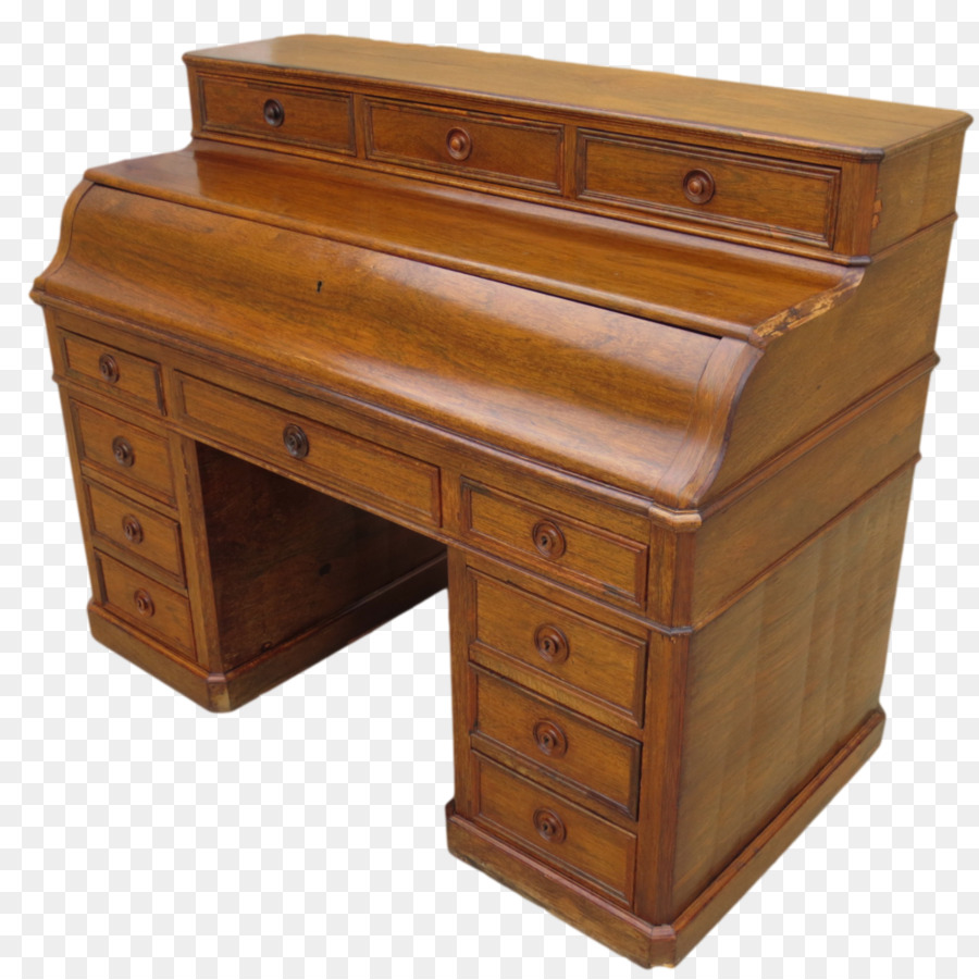 Furniture Secretary Desk Drawer Antique Office