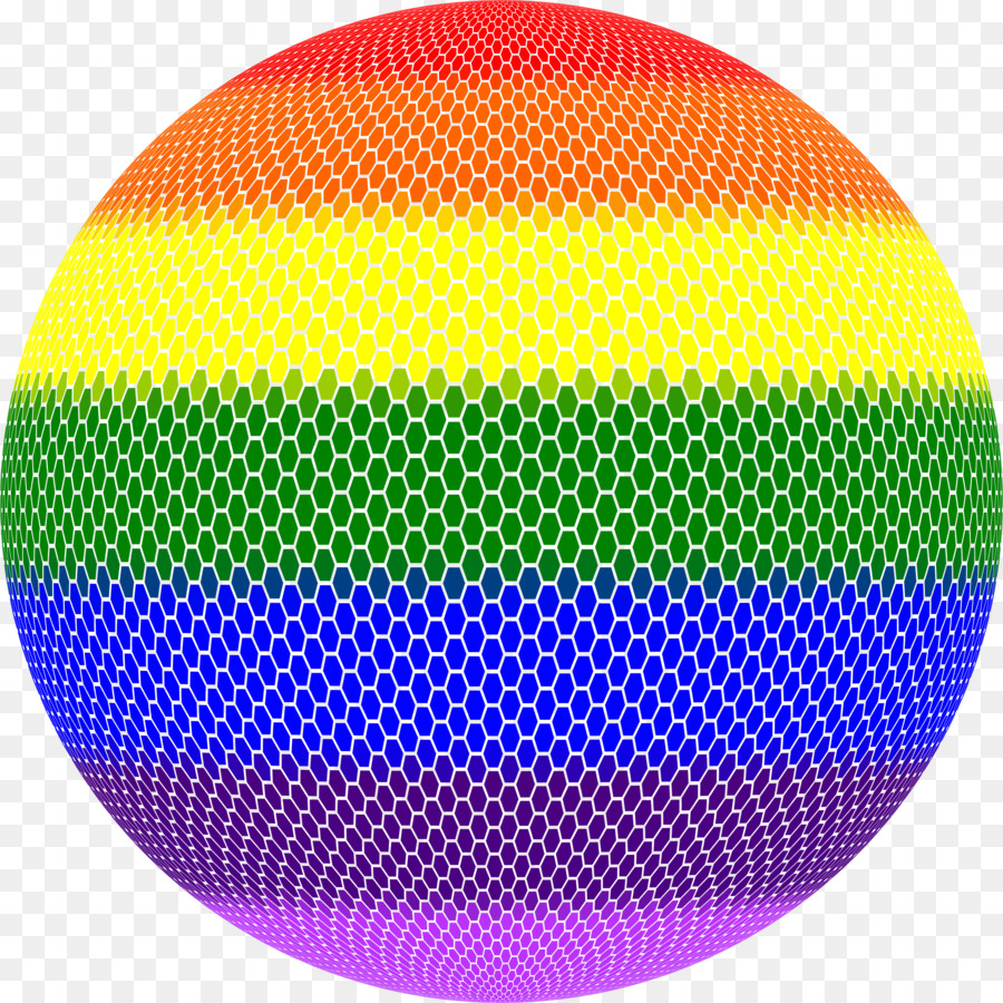 Esfera arco iris espacio tridimensional - mosaico Formatos De ...