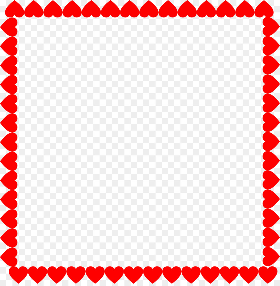 Heart Picture Frames Valentine\'s Day Clip art - heart frame png ...