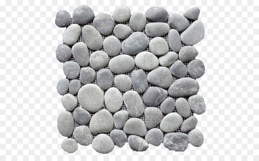 Pebble Tile Floor Shower Mosaic Pebble Png Download 550550