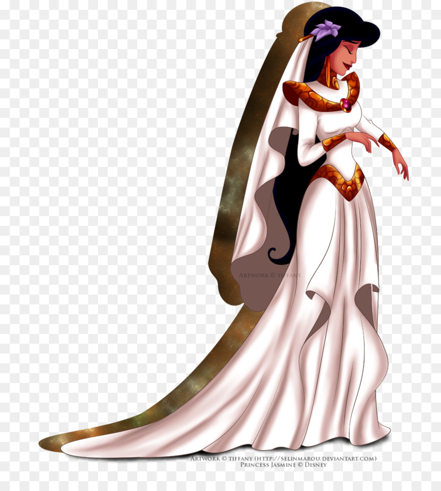 Princess Jasmine Disney Princess Wedding dress The Walt Disney ...