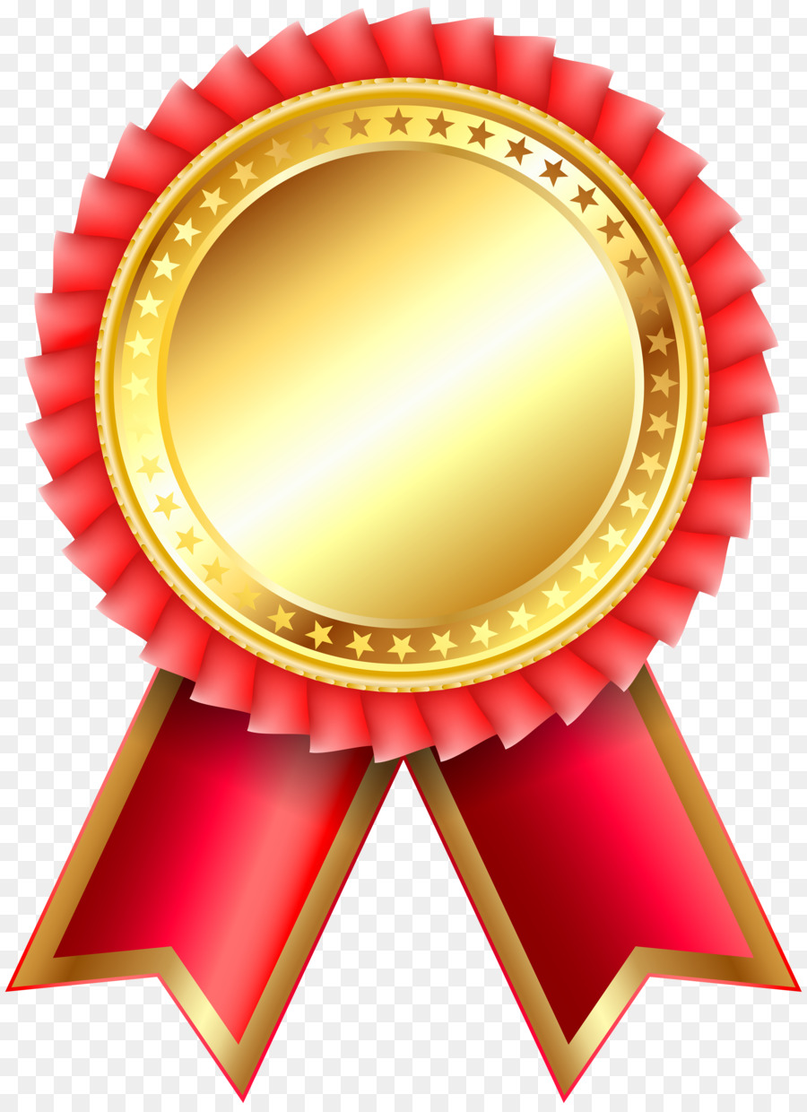 Award Ribbon Rosette Clip art - academic png download ...