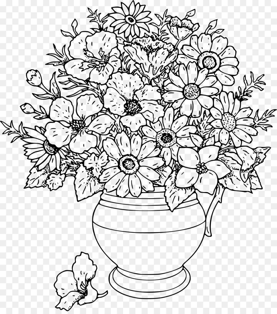 çocuklar Için Boyama Sayfaları Yetişkinler Boyama çiçek Boyama