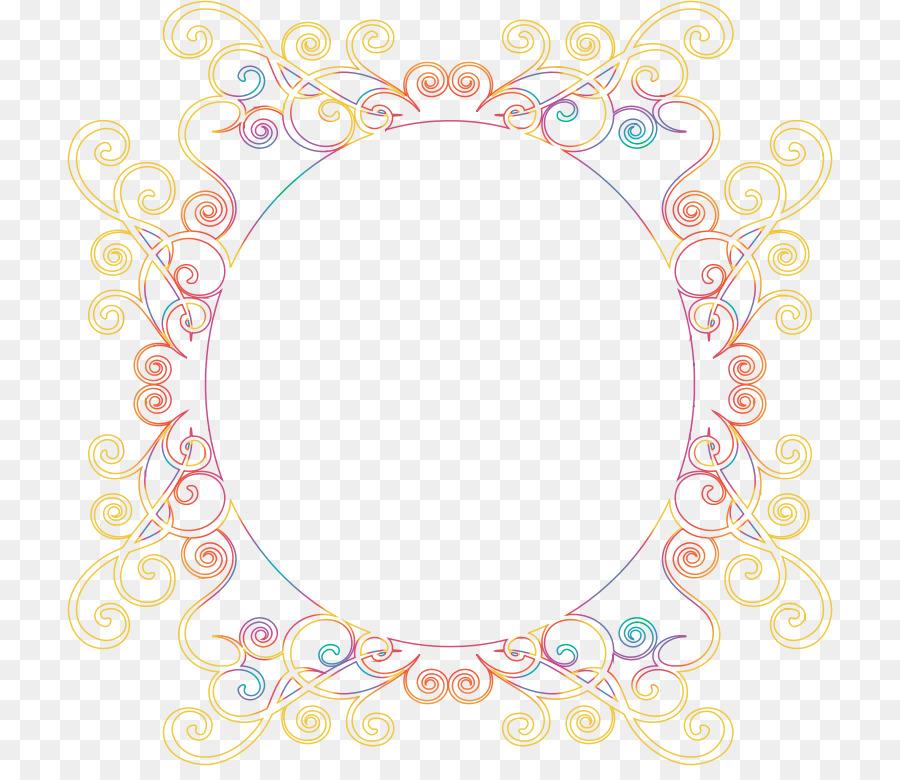 Picture Frames Desktop Wallpaper Clip Art Gold Border Frame Png
