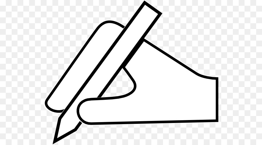Pencil Writing Clip Art   Hand With Pen