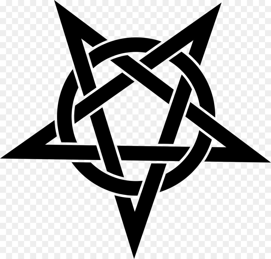 Pentagram Pentacle Symbol Clip Art Satan Png Download 24002293