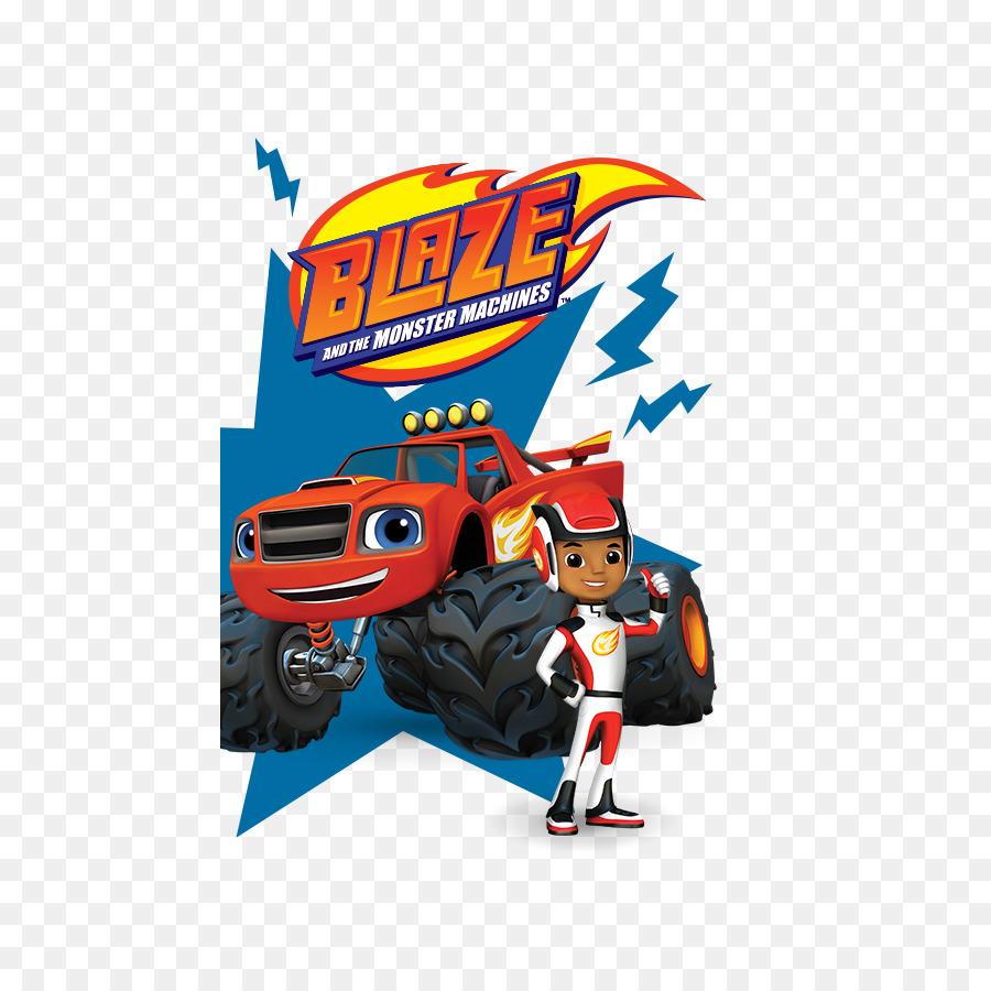 Libro para colorear de Nickelodeon, Nick Jr Monster truck - blaze ...