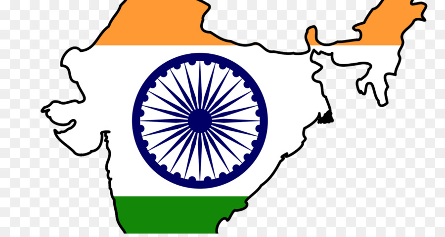 India Map Flag.Indian Independence Movement Flag Of India Map Flag India Png