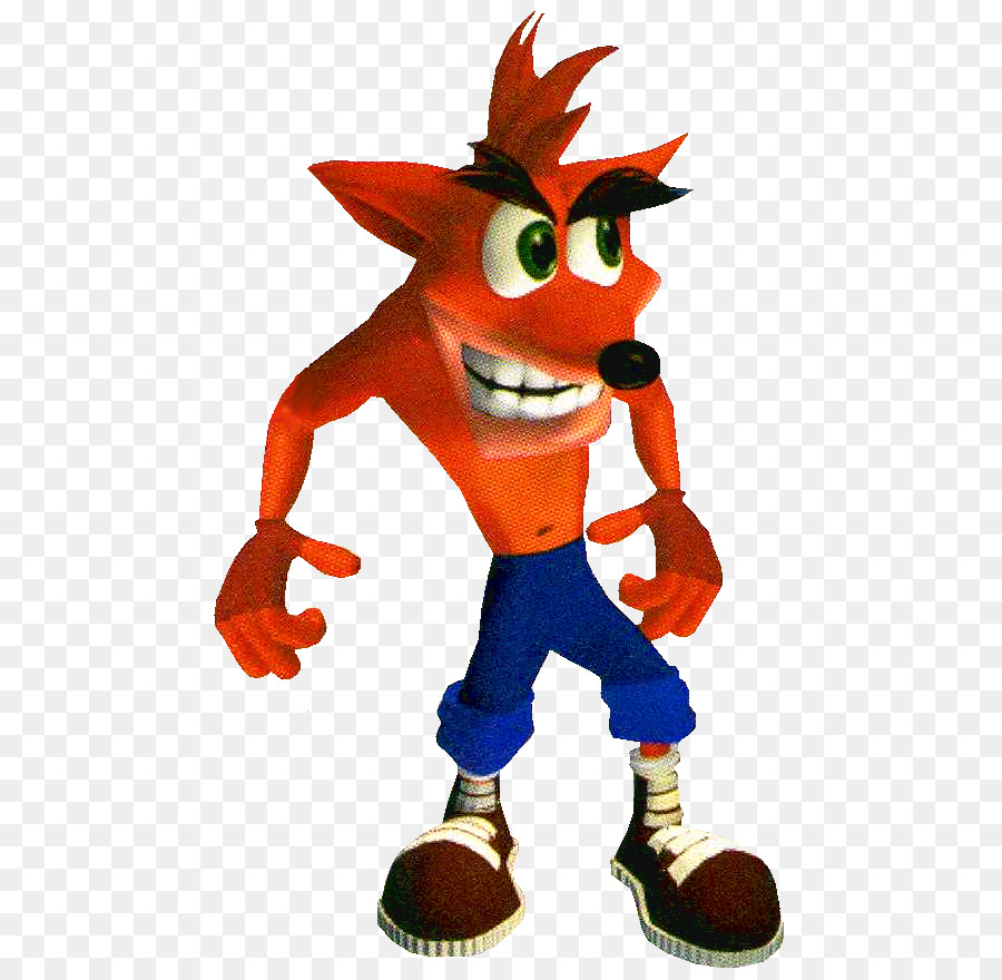 Crash Bandicoot The Wrath Of Cortex Figurine png download - 531*877