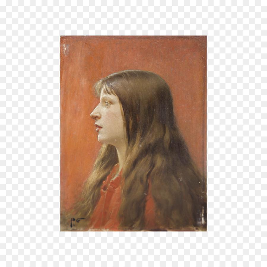 Portre Uzun Saç Saç Boyama Resim çerçeveleri Resim Kadın Suluboya