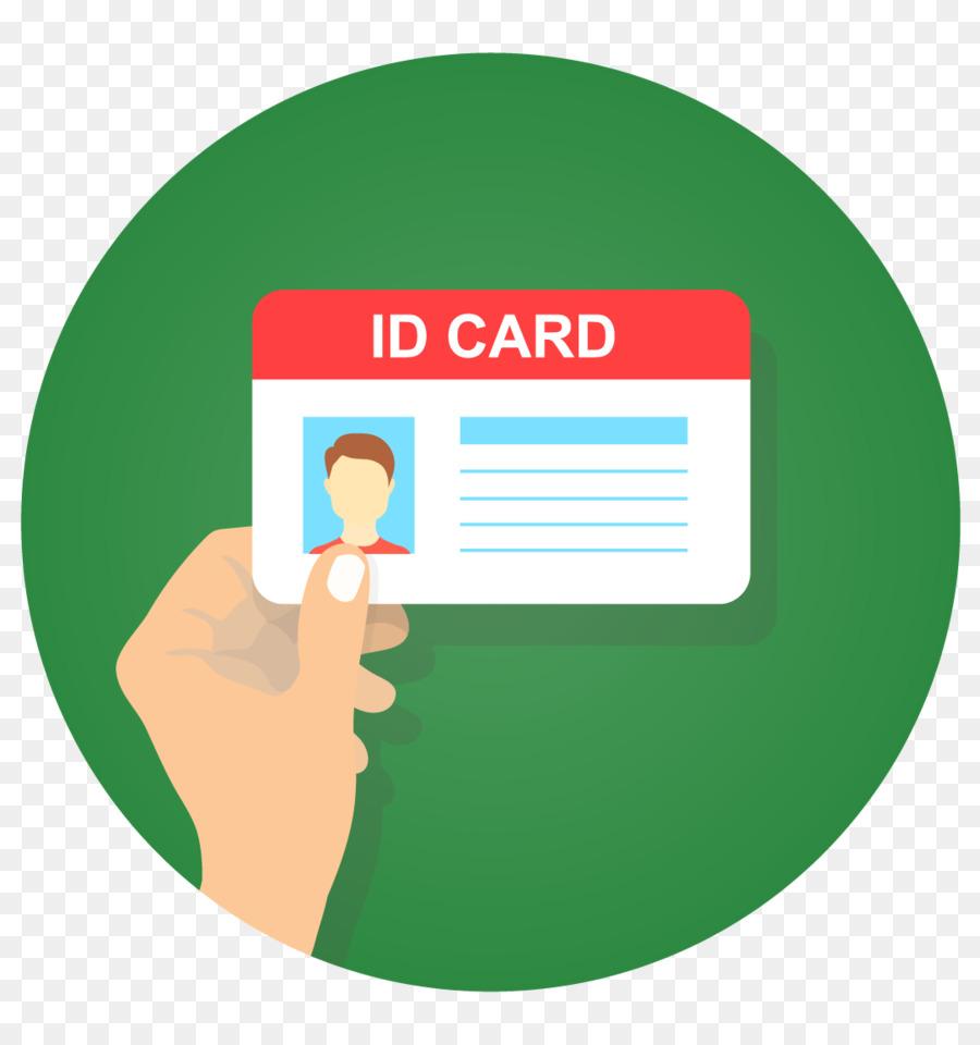 Documento de identidad, libre de Regalías Dibujo - tarjeta de ...