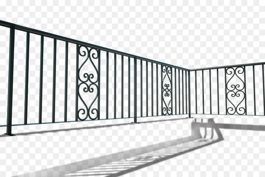 handrail wrought iron balcony iron railing baluster balcony - Balcony Railing