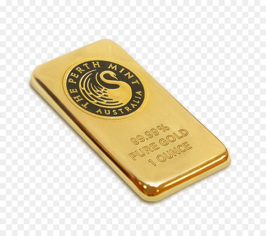 Perth Mint Gold Bar Ons Emas Oz Unduh Bahan Logam Emas Perth