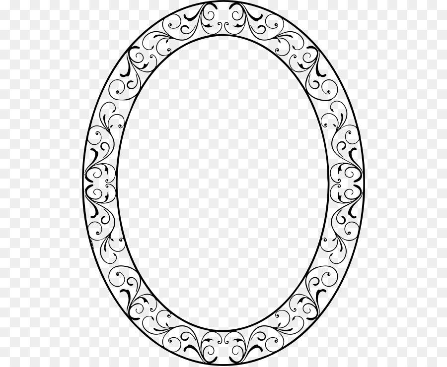 Marcos Ovalados Equipo de Iconos de Clip art - oval de la frontera ...