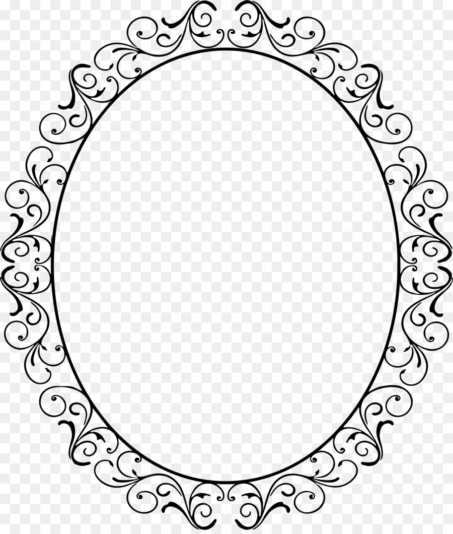 Picture Frames Oval Clip art - oval frame png download - 1928*2254 ...
