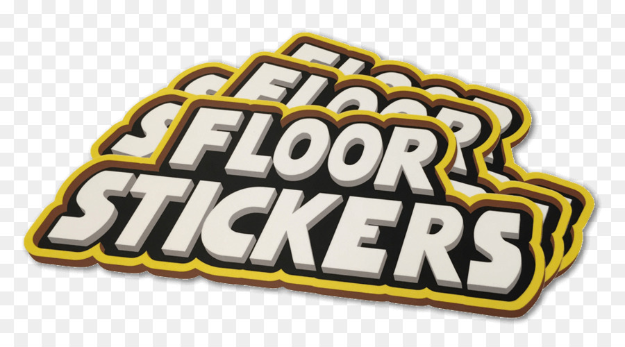 Paper sticker floor printing decal stickers