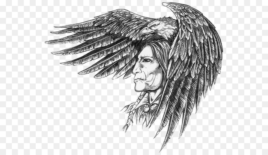 8502fc789 Cherokee, Tattoo, Native Americans In The United States, Angel, Monochrome  Photography PNG