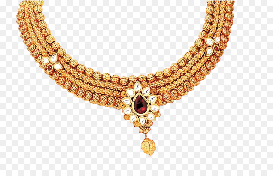 Jewellery Necklace Wedding dress Costume jewelry Gold jewels png