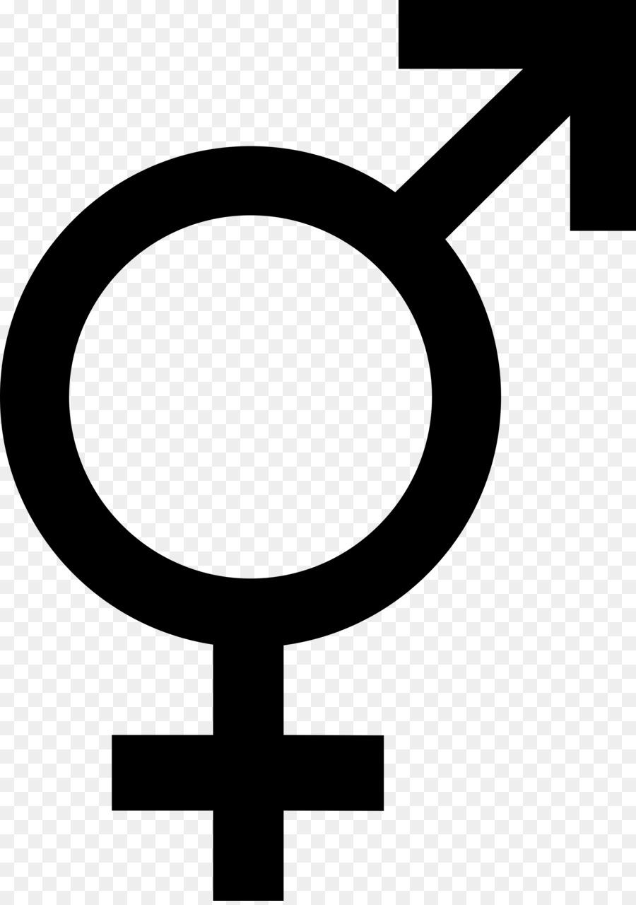 Transgender intersexual symbol