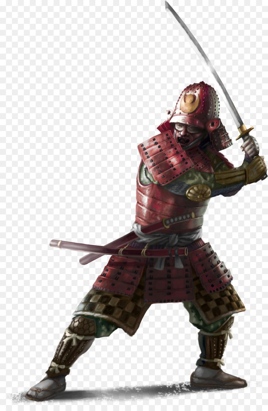 for honor city samurai warrior hero 3d miniature samurai png