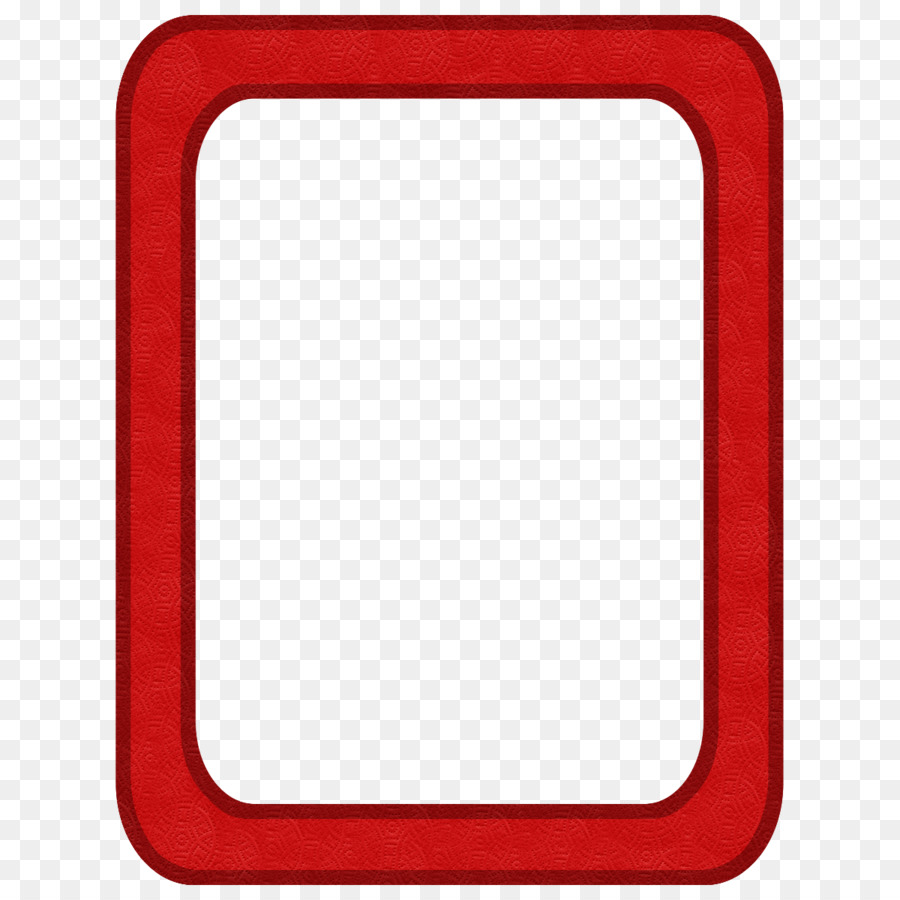 Borders and Frames Picture Frames Clip art - red frame png download ...