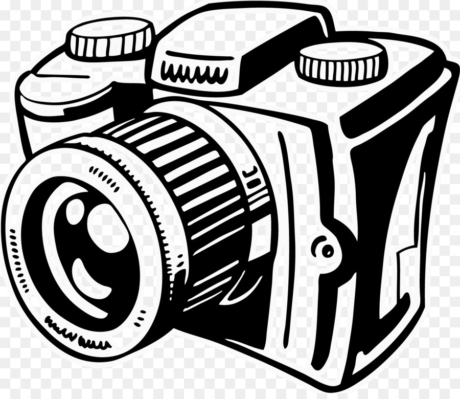 This picture is of a camera and it is black and white to represent the focus on black and white photography.