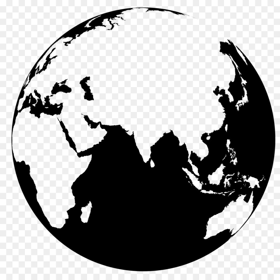 World Map Clip Art Black And White.Globe World Map Clip Art Earth Vector Png Download 1200 1200