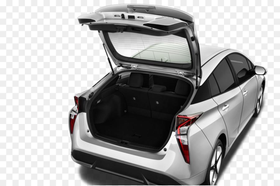2017 Toyota Prius V 2016 Two Hatchback C Plug In Hybrid Car Trunk Png 1360 903 Free Transpa