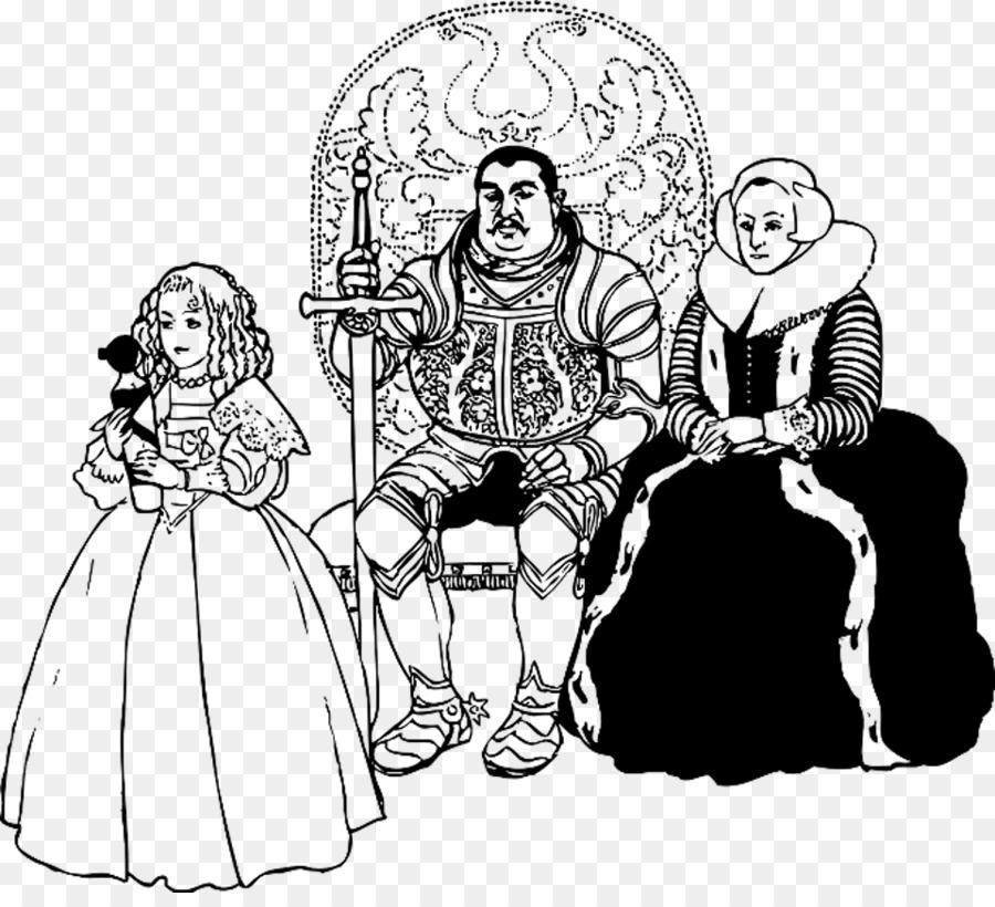 Rey Y Reina Regnant Clip Art Edad Media Png Dibujo Transparente