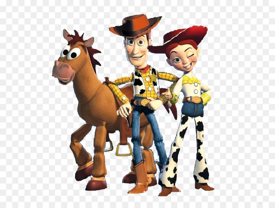 Sheriff Woody Jessie Buzz Lightyear Bullseye Toy Story ...