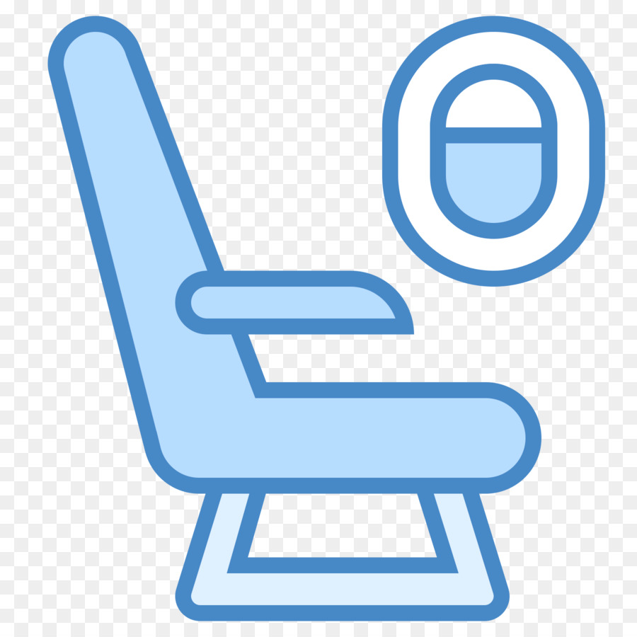 Airplane Flight Computer Icons Airline Seat Clip Art