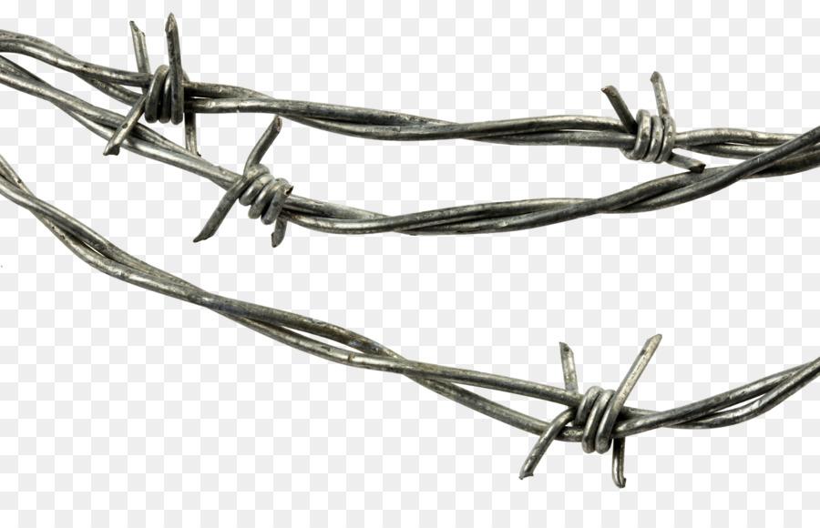 Stacheldraht Stahl Verzinkung Zaun Draht Png Herunterladen 1600