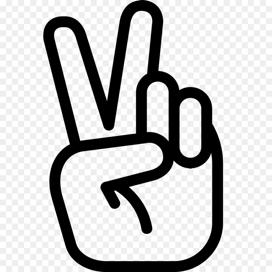 Computer Icons Hand Peace Symbols Peace Symbol Png Download 1600