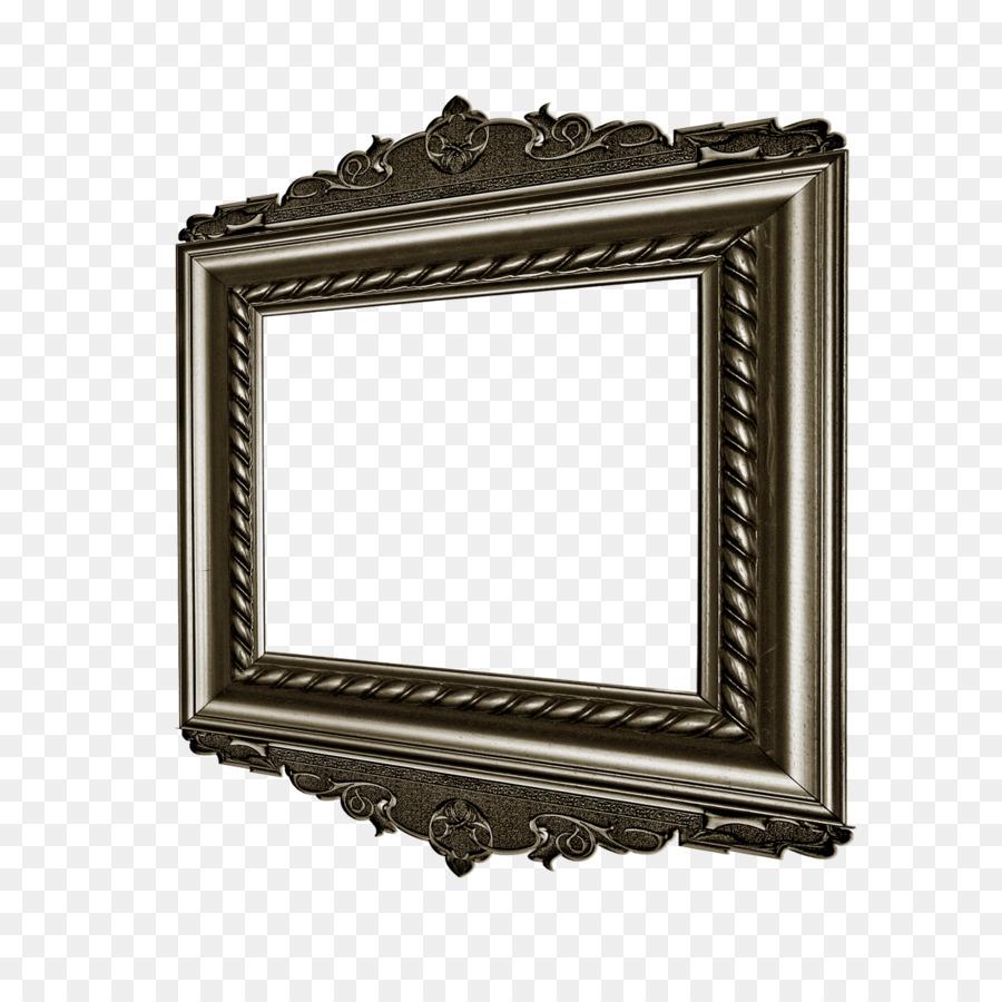 Los Marcos De Metal Gris De Oro - cuadros png dibujo - Transparente ...