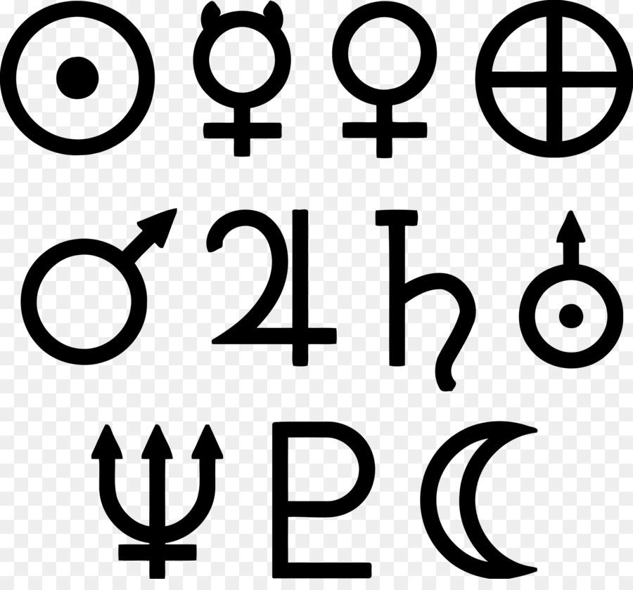 Solar System Astronomical Symbols Planet Clip Art Symbols Png