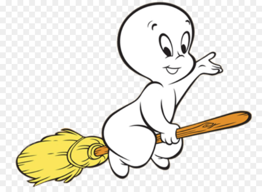 Gambar Casper Hantu Animasi Kartun Sapu Unduh Seni Paruh Kuning