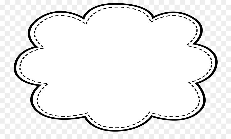 Sentence Vocabulary Letter Word Speech - cloud frame png download ...