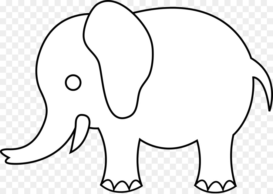 Line art drawing elephant clip art people eating