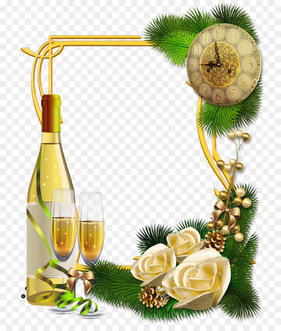 Happy New Year 2018 Picture Frames Christmas - happy frame png ...