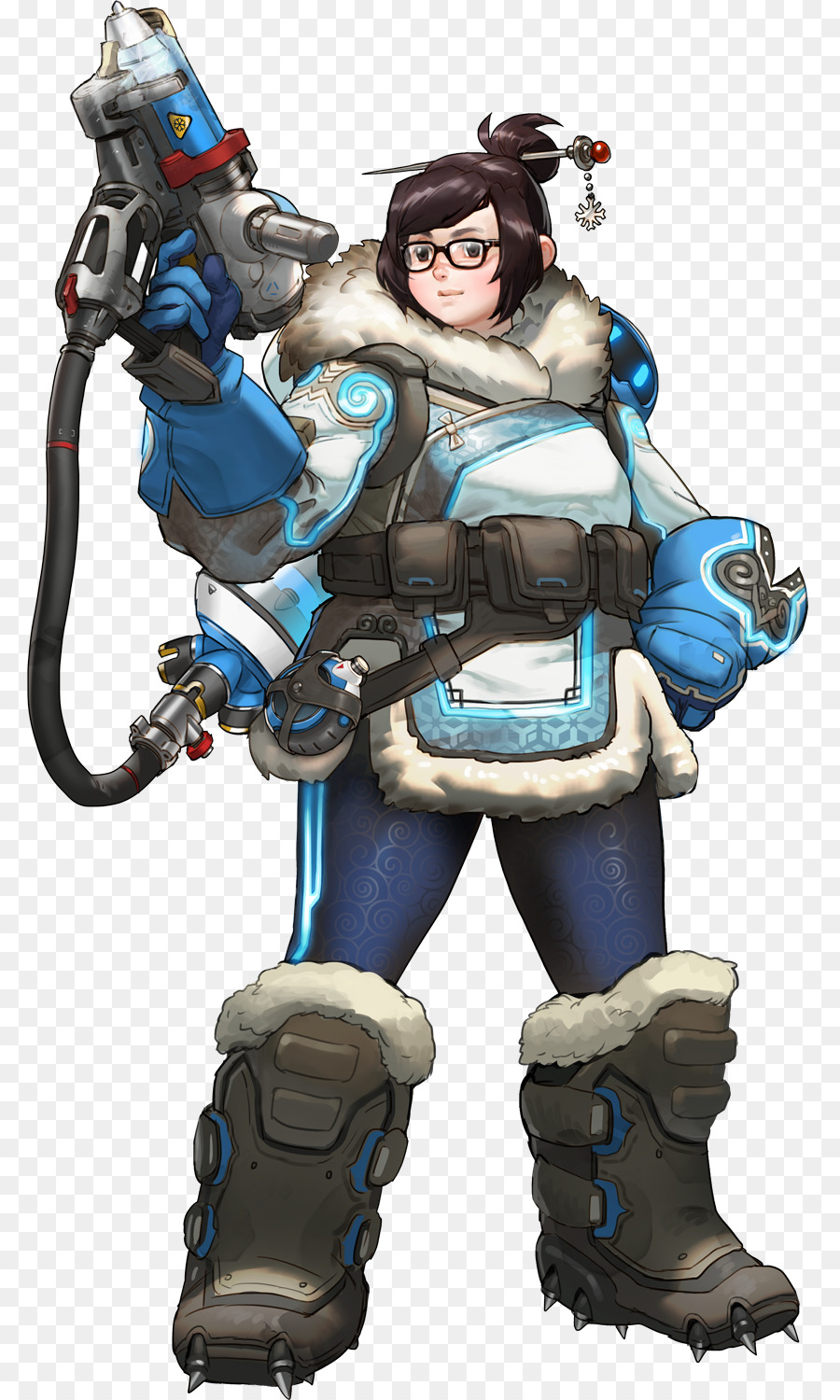 characters of overwatch mei d va overwatch png download 842 1500